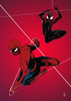 Amazing Spider-Man and Ultimate Spider-Man by Dima Ivanov *
