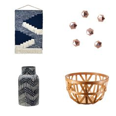Entryway - A perfectly woven wall hanging for only $30? Sign us up. The entryway is the best place to show off your favorite knick-knacks, and Target is the best place to find them. A vase, a beautiful basket and these faceted knobs make hanging your coats and bags look less mess, more chic.Target Woven Basket Short, $21Target Textured Ceramic Vase Black, $25Target Faceted Cast Metal Knobs, $15Target Woven Wall Hanging Blue, $30