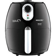 foto: Fritadeira Elétrica Mallory Smart Air Fryer 2,3L com Livro de Receitas - Preta