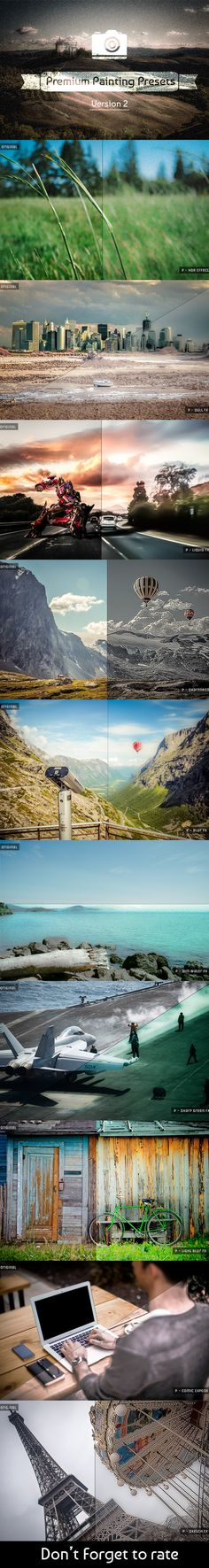 10 Painting Presets  V2 — LRTemplate #fx #summer • Available here → https://graphicriver.net/item/10-painting-presets-v2/6120909?ref=pxcr