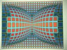 Optical Art 1: Victor Vasarely - Ceci n'est pas une pipe.