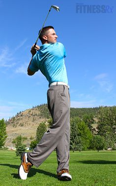 Be One of the Masters of the Golf Green PGA-style Workout Will Prepare You For Those 18 Holes
