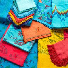 Dyed Linen Napkins