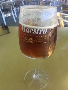 Mahou | Maestra Cerveza Tostada