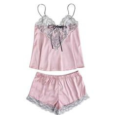 3815a40d52 Nightdress Womens Girls Cute Lace Embroidered Silk Underwear And Shorts  Pajama Set Sexy Sleepwear Nighties For Women