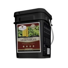 Wise Foods Freeze Dried Vegetable 160 Servings Gluten Free, Black ** Trust me, this is great! Click the item shown here. : Camping stuff