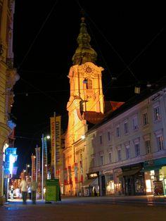 Graz downtown - 照明探偵団