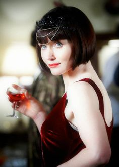 Miss Fisher's Murder Mysteries. I love this show - and her hair!