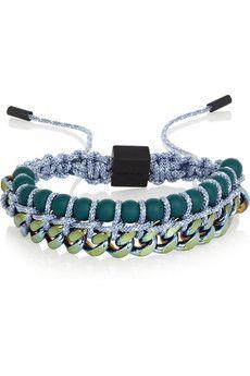 Proenza Schouler Guru anodized brass bracelet | NET-A-PORTER