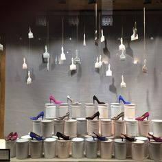 Shoe shop at Lisbon #window #display