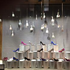 Shoe shop at Lisbon #window #display