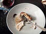 Black truffle and garlic roast chicken