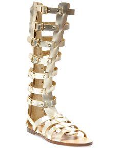 24650d07046d Madden Girl Penna Tall Gladiator Sandals Shoes - Sandals   Flip Flops -  Macy s