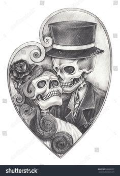 Bildergebnis für drawings day of the dead