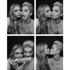 Risultati immagini per cara delevingne and rita ora Rita Ora, Cara Delevingne, Best Friend Love, Best Friends, Pretty People, Beautiful People, Beautiful Celebrities, Glamour Uk, Portraits