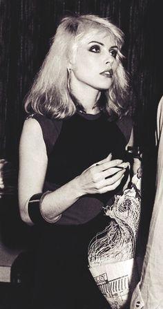 Deborah Harry. Blondie.