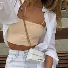 Mode Outfits, Girl Outfits, Summer Outfits, Fashion Outfits, Fashion Trends, Beach Outfits, Fashion Clothes, Tomboy Fashion, Fashion 2020