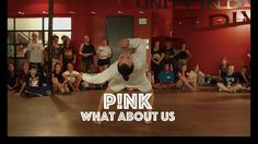 Pink - What About Us | Hamilton Evans Choreography - YouTube