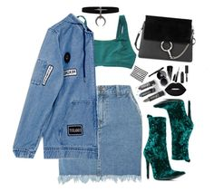 """""""Untitled #165"""" by marc-anthony on Polyvore featuring Dorothy Perkins, Haider Ackermann, Chanel, Chloé, Urban Decay, Givenchy, 8 Oak Lane and Bobbi Brown Cosmetics"""