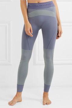 Adidas by Stella McCartney - Stretch-jersey Leggings - Indigo