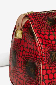 Vintage Louis Vuitton Kusama Waves Leather Bag