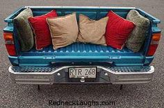Truck Bed Couch