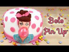 Bolo Pin Up | Como Fazer Bolo de Aniversário Pin Up | Cakepedia - YouTube
