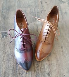 "Spotlight: New ""Londoner"" Edwardian Oxfords Oxfords, Shoes Heels Boots, Heeled Boots, Winter Trends, Autumn Winter Fashion, Spotlight, Sneakers Fashion, Vintage Outfits, Fashion Accessories"