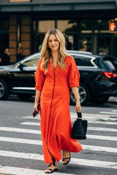 New York Fashion Week Delivered All the Street Style You've Been Waiting For New York Fashion Week Street Style, Nyfw Street Style, Spring Street Style, Cool Street Fashion, Fashion Editor, All Fashion, Modest Fashion, First Day Outfit, New Yorker Mode