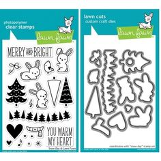 Lawn Fawn SET LF214SDY SNOW DAY Clear Stamps And Dies at Simon Says STAMP!