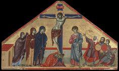 Guido da Siena - Crocifissione di Yale - 1280 - Yale University Art Gallery