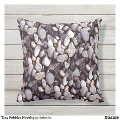 Shop Tiny Pebbles Novelty Outdoor Pillow created by kahmier. Unusual Things, Outdoor Pillow, Throw Pillows, Cushions, Decorative Pillows, Decor Pillows, Outdoor Cushions, Pillows, Scatter Cushions