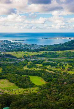 Pali Lookout   Oahu, Hawaii