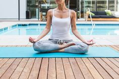 Breathe in, breathe out. Feels like we're floating on AIRism. Breath In Breath Out, Uniqlo, Fitspo, Basic Tank Top, Kids Outfits, Yoga, Workout, Tank Tops, Children