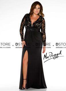 Vestido de Festa Longo Plus Size com Renda Gaetana 76457 : Dstore, As Melhores Grifes dos EUA - Site Oficial