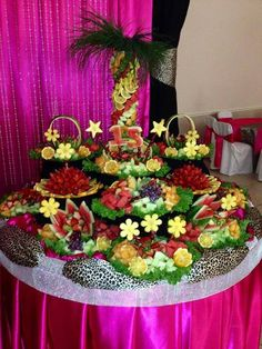 Gorgeous Fruit Table.By Party Planning Connection.
