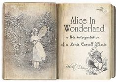 mernymphs. Alice Book, Alice In Wonderland Book, Adventures In Wonderland, Lewis Carroll, Up Book, Book Art, I Love Books, Good Books, Go Ask Alice