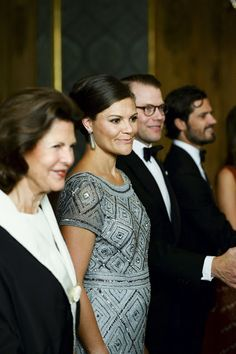 Victoria de Suède, duchesse de Västergötland et le prince Daniel, duc de Västergötland.