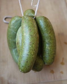 Green Chorizo Recipe. Chorizo is Spanish for sausage. In Spain you say chorizo and you may get a dry sausage that's seasoned with t...