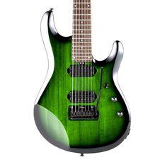 Sterling by MusicMan John Petrucci JP70 7-String Electric Guitar - Translucent Green Burst
