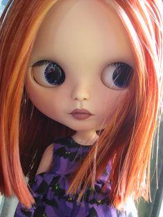 Layla - my first custom Blythe OOAK doll