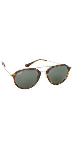 d7a752fcf3 Ray-Ban Highstreet Aviator Sunglasses