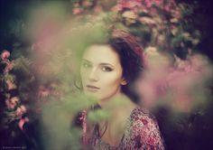 Shoot-through effect and beautiful bokeh.