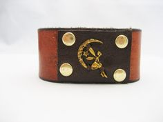 Fairy Bracelet Fairy Leather Bracelet Leather by Treeleafleather