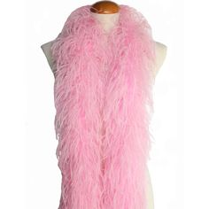 Ostrich Feather Boas, Over 20 Colors to Pick Up (Baby Pink) Ostrich Feathers, Feather Boas, Feather Scarf, Lingerie Party, Chicago Shopping, Glam Rock, Urban Outfits, Halloween Costumes, Prom