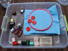Work Task for more advanced students: Sewing Activity