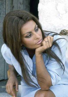 Sophia Loren by Milton H. Greene | 1966