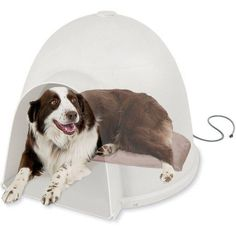 k&h pet products lectro-soft igloo style heated bed - kh1053   pet