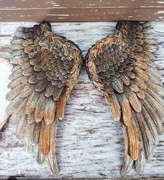 Angel Wings Decor, Angel Wings Wall, Angel Art, Gothic Angel, Wings Drawing, Scrap Metal Art, Assemblage Art, Simple Art, Cute Drawings
