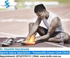 Dr. Kaushik Hazratwala performs surgery for sporting related injuries #Sports #Injury #Doctor in #Townsville. He is the best Townsville sports surgeon. Call @+61 7 4727 4111 & Schedule an appointment, Visit - http://www.tsvllc.com.au/